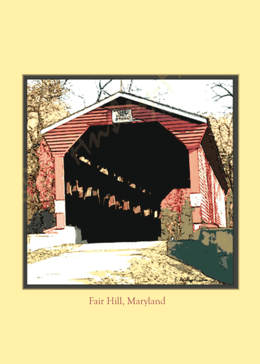 Fair Hill Covered Bridge, MD